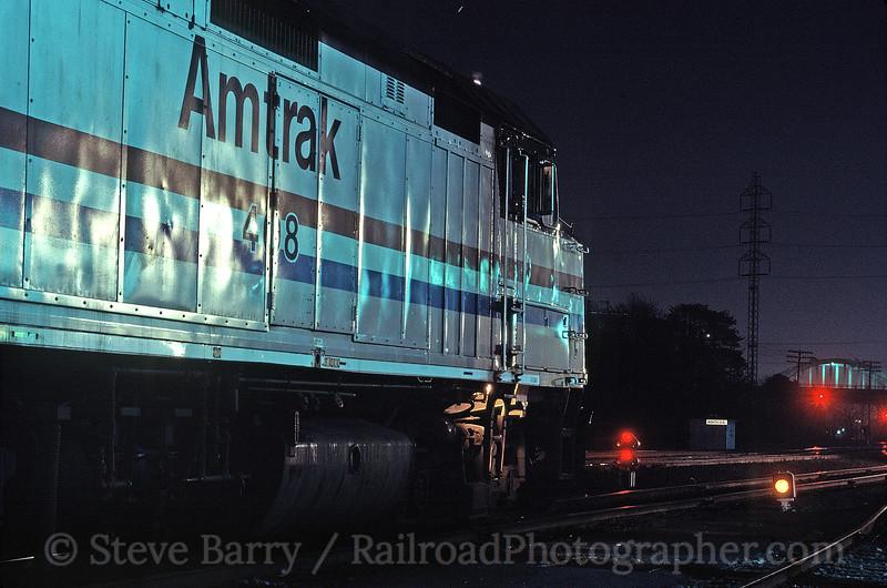 Photo 1736<br /> Amtrak<br /> Little Rock, Arkansas