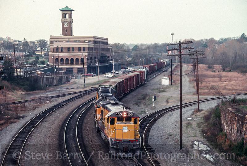 Photo 2106<br /> Union Pacific; Little Rock, Arkansas<br /> March 26, 1993