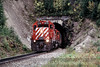 Photo 1323<br /> CP Rail; Field, British Columbia<br /> September 1988