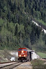 Photo 0158<br /> Canadian Pacific; Mount Macdonald Tunnel, Glacier, British Columbia<br /> May 2004