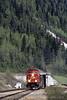 Photo 0158<br /> Canadian Pacific; Mount Macdonald Tunnel, Glacier, British Columbia<br /> May 2004