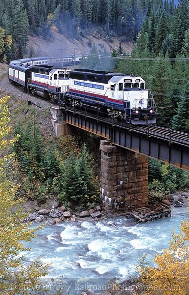 Photo 0253<br /> Rocky Mountaineer Railtours; Old Ottertail (Field), British Columbia