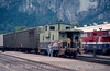 Photo 2958<br /> BC Rail; Squamish, British Columbia<br /> September 1988