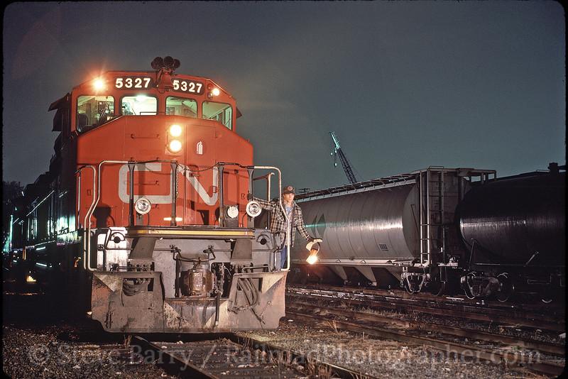 Photo 1411<br /> Canadian National; Lynn Creek, British Columbia<br /> September 1988
