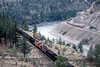Photo 1054<br /> CP Rail and Canadian National; Thompson River Canyon, British Columbia<br /> September 1988