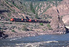 Photo 2960<br /> Canadian Pacific; Thompson River Canyon, Lytton, British Columbia<br /> May 22, 1986