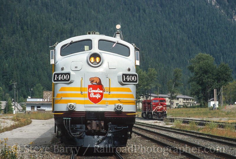 Photo 5100<br /> Royal Canadian Pacific<br /> Field, British Columbia<br /> September 2000