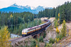 Photo 5061<br /> Royal Canadian Pacific<br /> Old Ottertail, Field, British Columbia<br /> September 2000