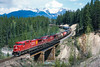 Photo 4194<br /> Canadian Pacific; Old Ottertail, Field, British Columbia<br /> May 2004
