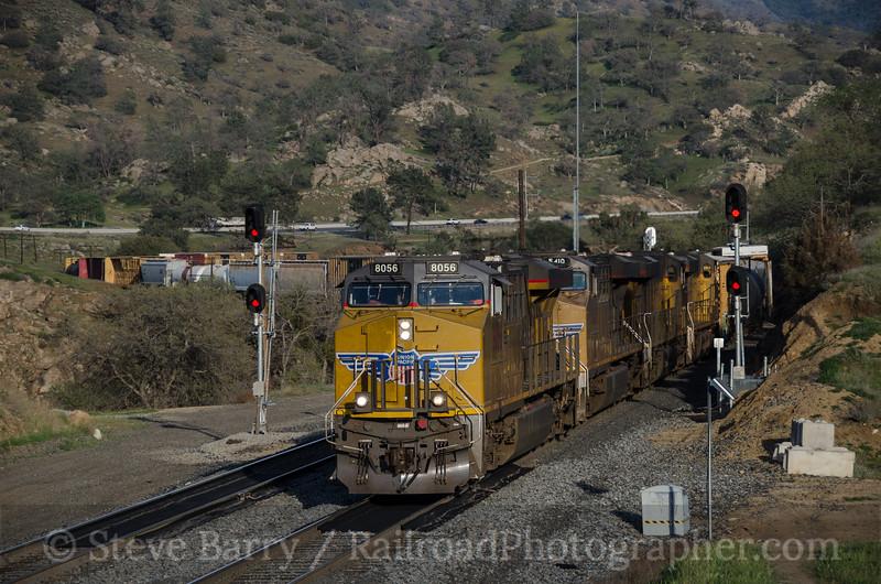 Photo 3341<br /> Union Pacific; Woodford, California<br /> March 16, 2015