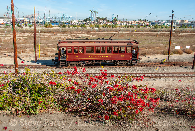 Waterfront Red Car; San Pedro CA; 10/30/09
