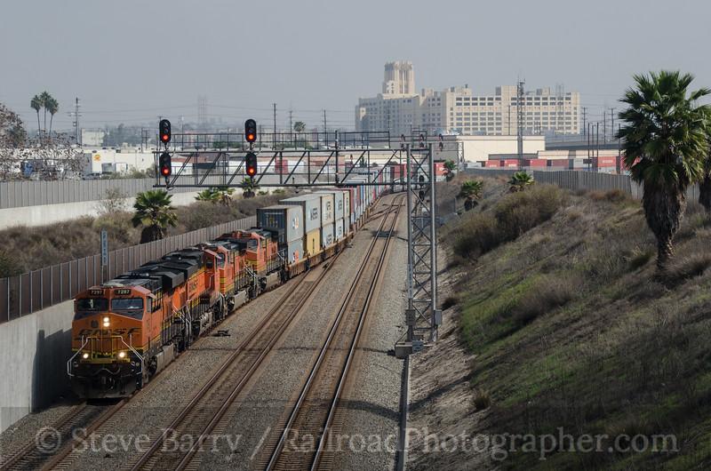 Photo 3099<br /> BNSF Railway; Vernon, California<br /> March 5, 2014