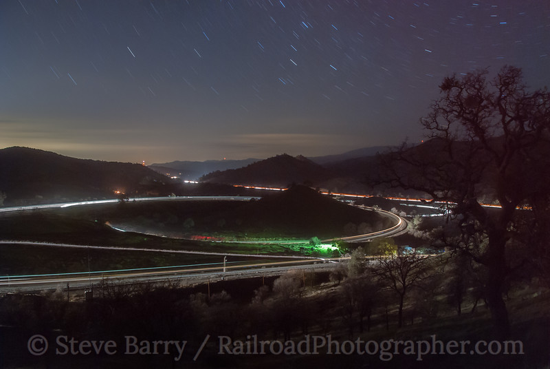 Photo 2325<br /> Tehachapi Loop; Walong, California<br /> March 12, 2012