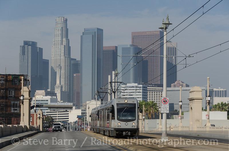 Photo 3095<br /> Metro Rail; Los Angeles, California<br /> March 5, 2014
