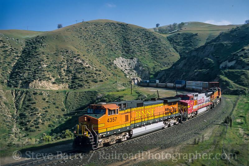 BNSF; Bealville CA; 3/2003