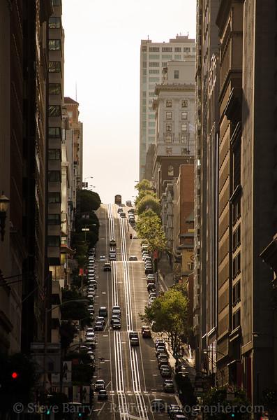 Photo 3337<br /> Muni; California Street, San Francisco, California<br /> March 15, 2015