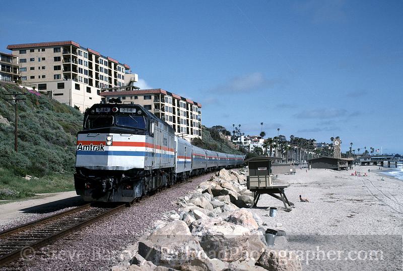 Photo 1352<br /> Amtrak; San Clemente, California