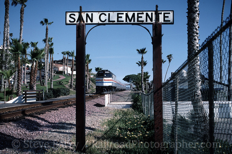 Photo 1217<br /> Amtrak; San Clemente, California