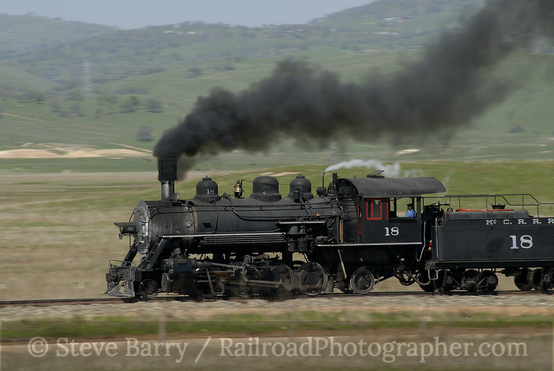 Photo 1106<br /> Sierra Railroad; Cooperstown, California<br /> March 9, 2008