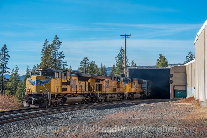Union Pacific; Norden CA; 11/17/19
