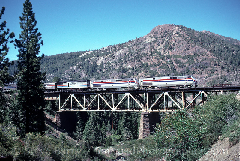 Photo 2000<br /> Amtrak; Cisco, California<br /> June 28, 1999