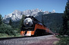 Photo 0486<br /> Southern Pacific 4449; Castle Crag, California<br /> August 19, 1992