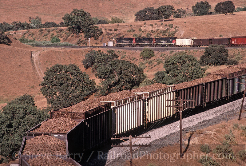 Photo 1742<br /> Union Pacific (Southern Pacific); Bealville, California<br /> June 29, 1999
