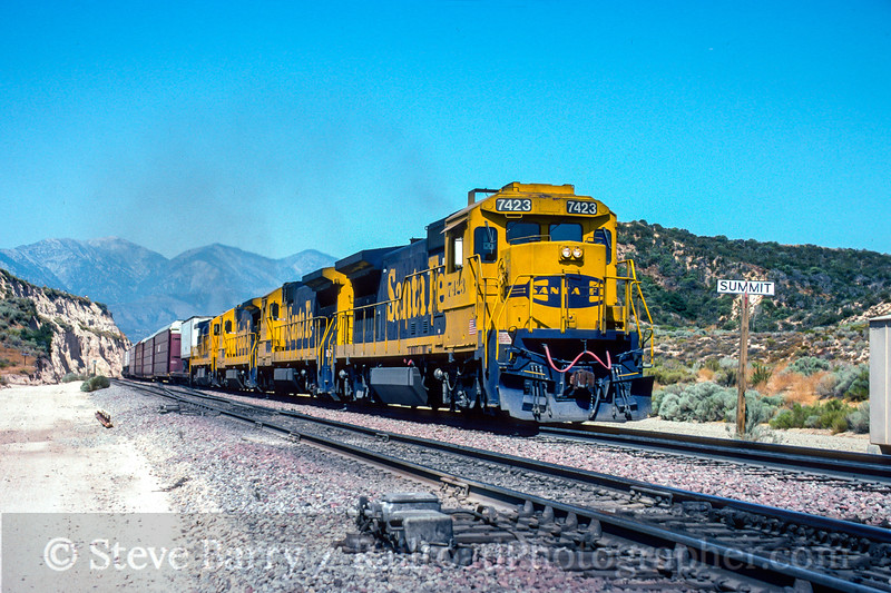 Santa Fe; Summit CA; 8/1992