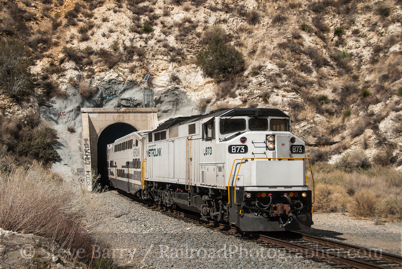 Photo 2328<br /> Metrolink; Soledad Canyon, Canyon Country, California<br /> March 12, 2012