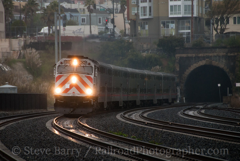 Photo 2026<br /> Caltrain; Bayshore, San Francisco, California<br /> March 10, 2011