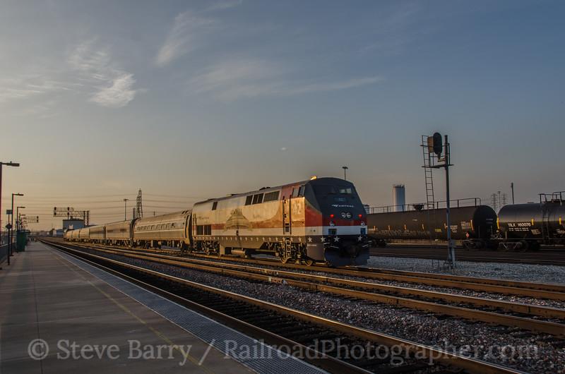 Photo 3103<br /> Amtrak; Commerce, California<br /> March 6, 2014