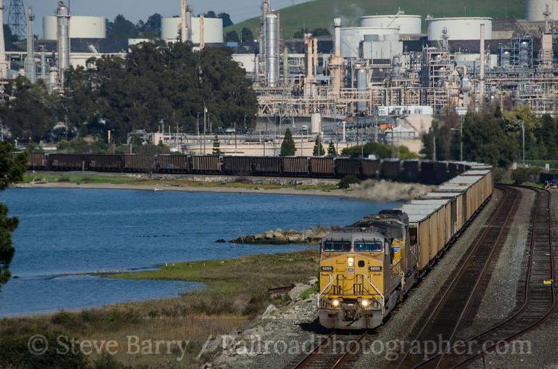 Photo 2639<br /> Union Pacific; Rodeo, California<br /> March 13, 2013