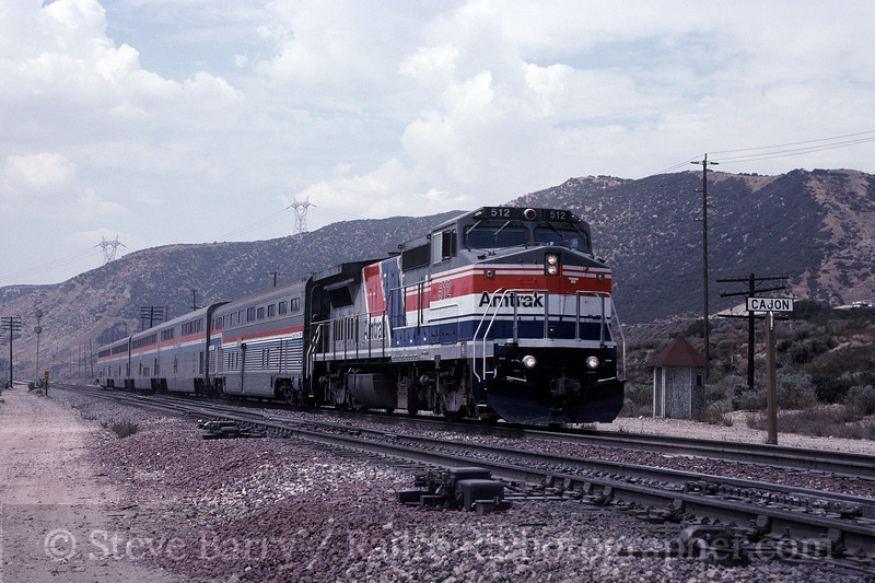 Photo 1578<br /> Amtrak; Cajon, California