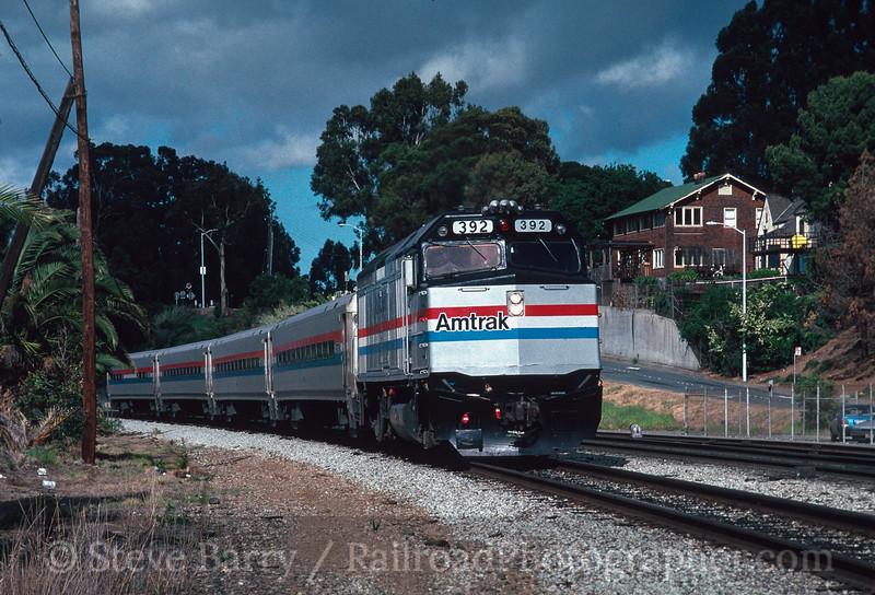 Photo 2947<br /> Amtrak; Martinez, California<br /> May 1991