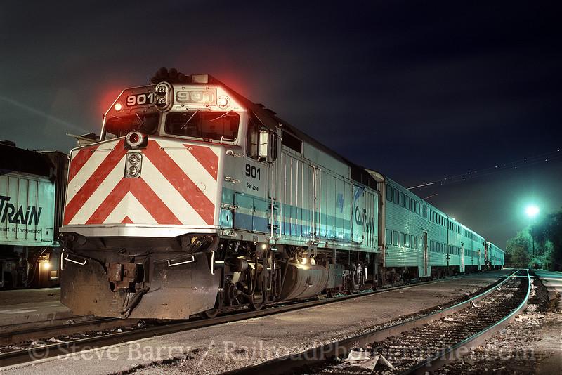 Photo 1531<br /> Caltrain; San Jose, California<br /> May 1991
