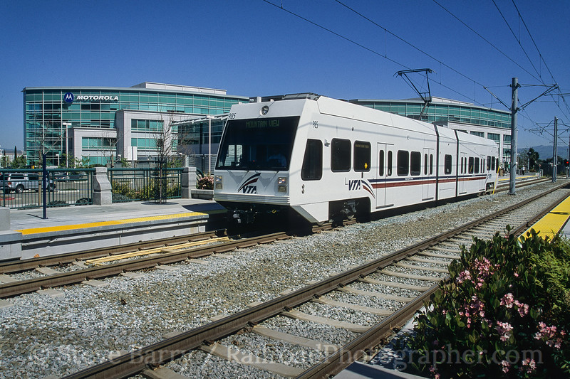 Photo 4199<br /> Valley Transportation Authority; Moffett Park, Sunnyvale, California<br /> March 2005