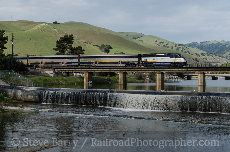 Photo 3109<br /> Amtrak; Fremont, California<br /> March 9, 2014