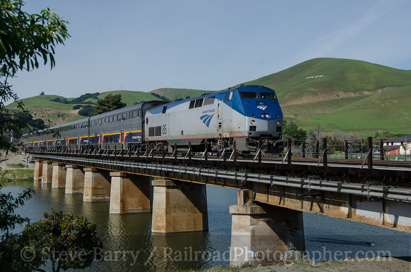 Photo 3327<br /> Amtrak; Niles Junction, Fremont, California<br /> March 12, 2015
