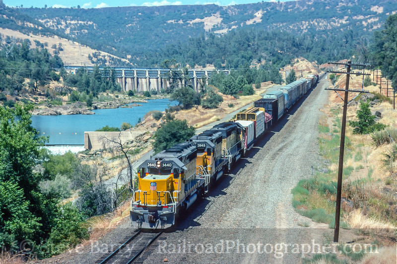 Union Pacific; Oroville CA; 7/1992