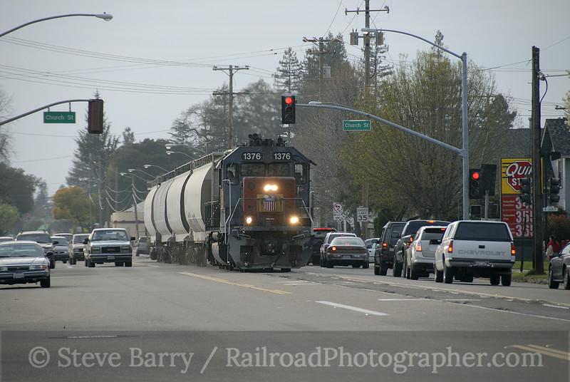 Photo 1113<br /> Union Pacific; Lodi, California<br /> March 7, 2008