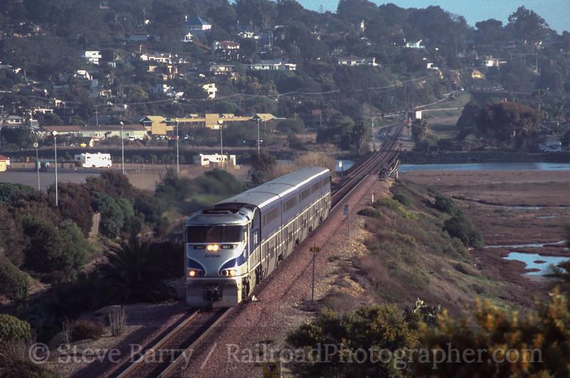 Photo 2437<br /> Amtrak; Delmar, California<br /> March 2002