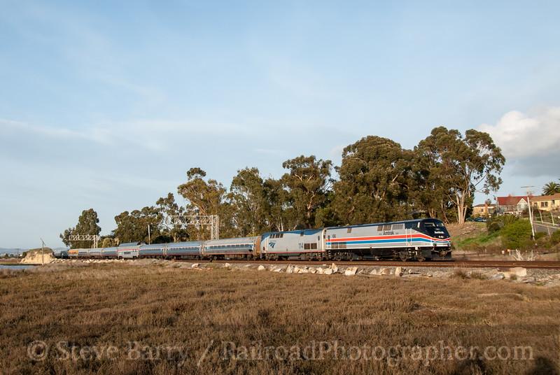 Photo 2342<br /> Reno Fun Train (Amtrak); Pinole, California<br /> March 11, 2012