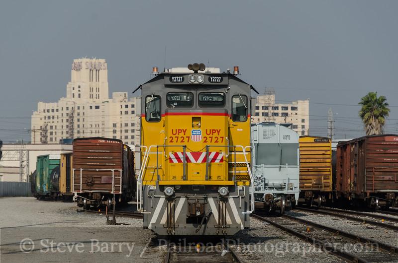Photo 3093<br /> Union Pacific; J Yard, Vernon, California<br /> March 4, 2014