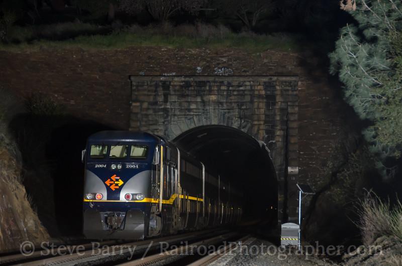Photo 2628<br /> Amtrak; Newcastle, California<br /> March 10, 2013