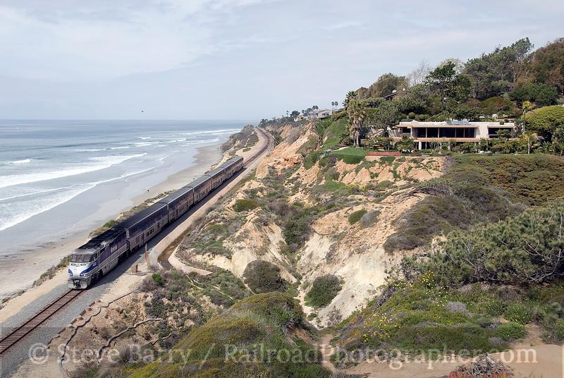 Photo 1461<br /> Amtrak; Delmar, California<br /> March 11, 2009