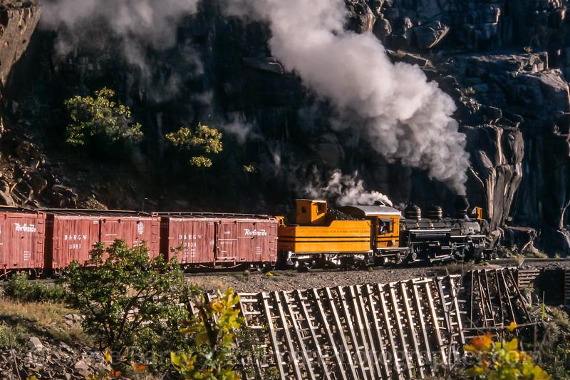 Durango & Silverton; Rockwood CO; 10/8/03