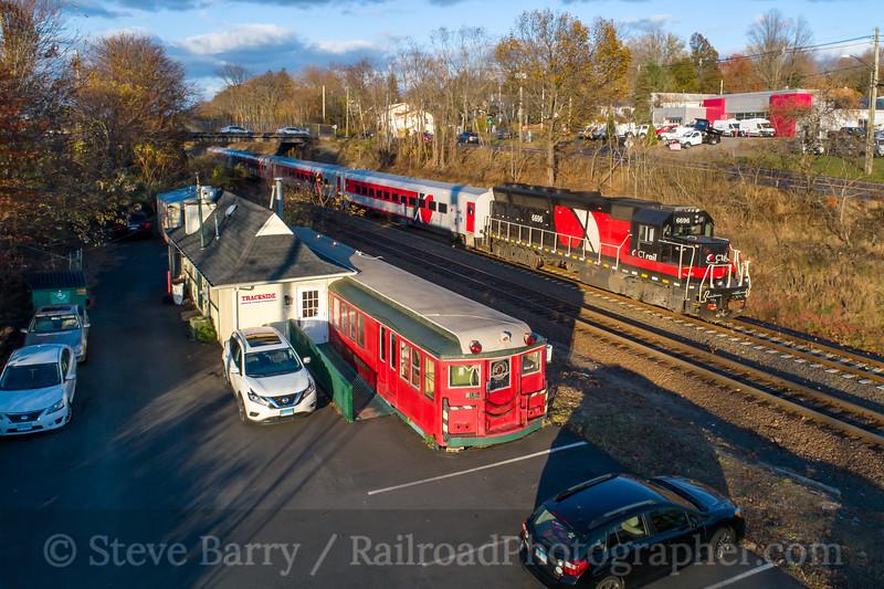 Hartford Line; Wallingford CT; 11/8/19