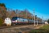 Photo 5363<br /> Amtrak<br /> Old Saybrook, Connecticut<br /> November 11, 2018