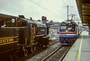 Amtrak and Wilmington & Western; Wilmington DE; 5/1989