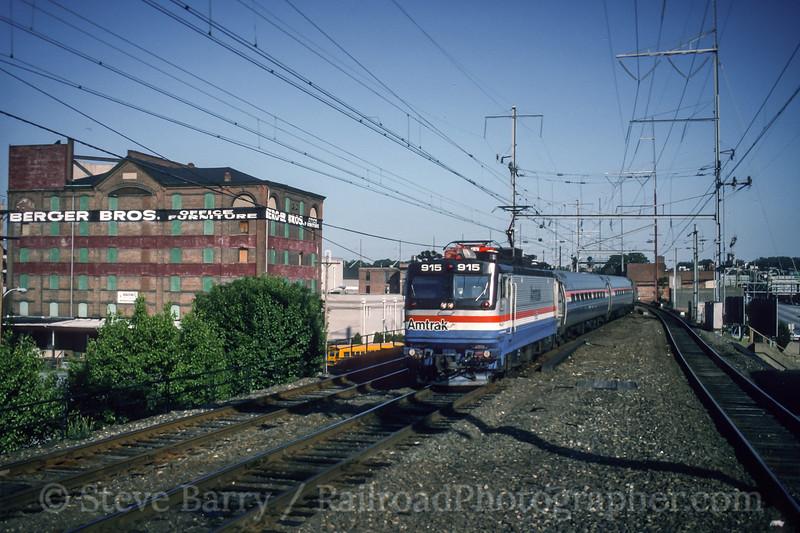 Amtrak; Wilmington DE; 6/1993